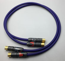 Load image into Gallery viewer, Gotham Audio-Neutrik 10018 GAC-1 Ultra Pro Unbalanced RCA Cable Pair