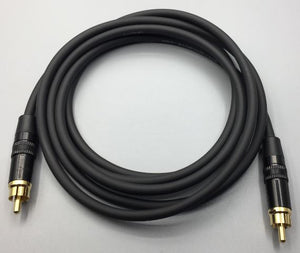 Gotham Audio-Rean 10008 GAC-1 Unbalanced Subwoofer Cable