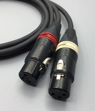 Load image into Gallery viewer, Gotham Audio-Neutrik-Rean 10421 GAC-2 V1 Unbalanced  XLR Female-RCA Cable