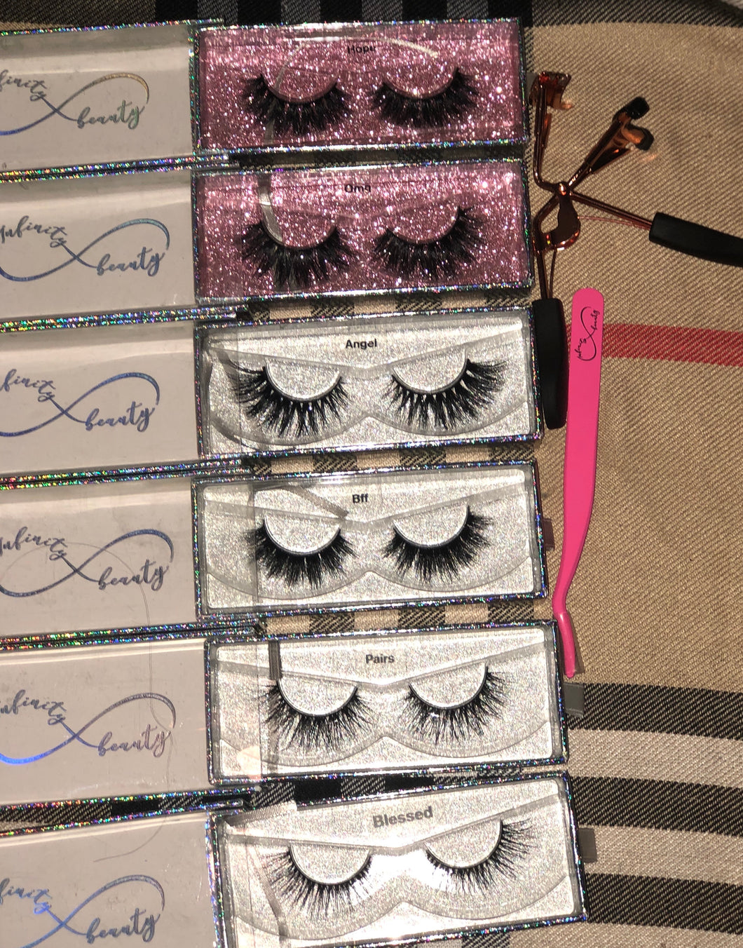 Lash collection Chose to shine 6 pairs plus tools