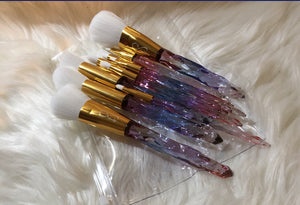 13 pc Beautiful brush set