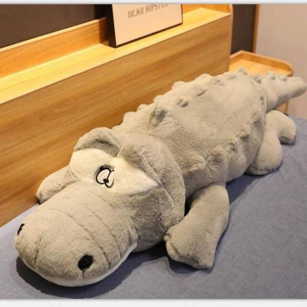 Grosse Peluche Crocodile