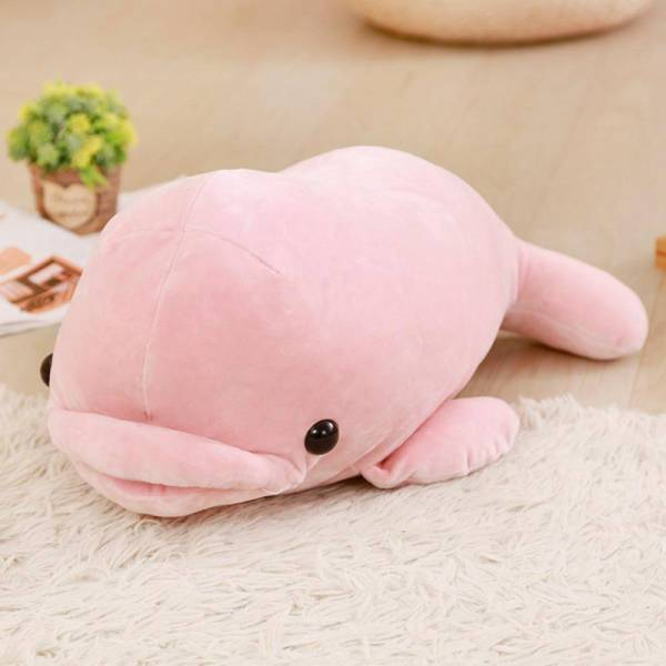 Peluche Dauphin Rose pas Cher