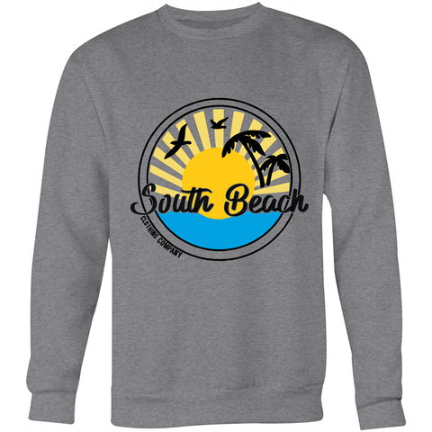 Men's South Beach - Crew Neck Jumper Sweatshirt