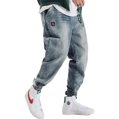 Loose Fit Tapered Men's Jeans