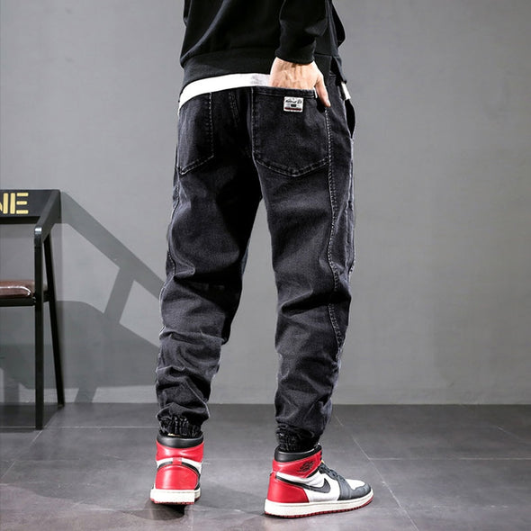Loose Fit Men's Cargo Joggers