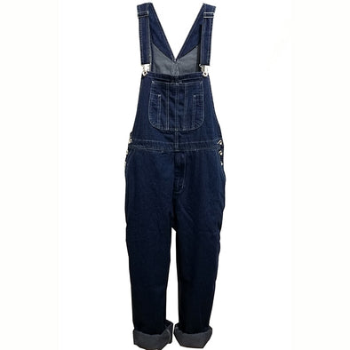 Loose Fit Men's Overalls with Pockets