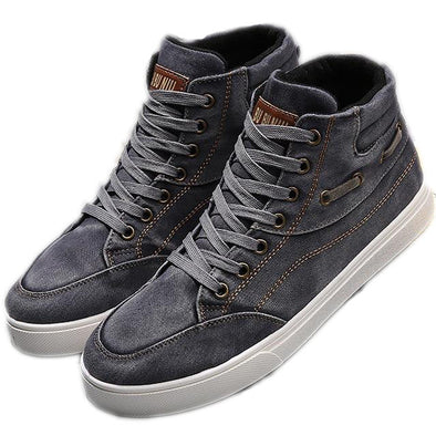 Canvas Men's High Top Sneakers