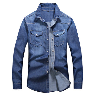 Regular Fit Long-Sleeved Men's Shirt
