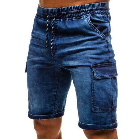 Casual Regular Fit Men's Jean Shorts