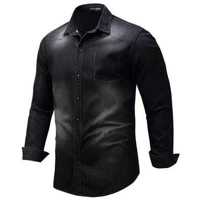 Long-Sleeved Men's Shirt