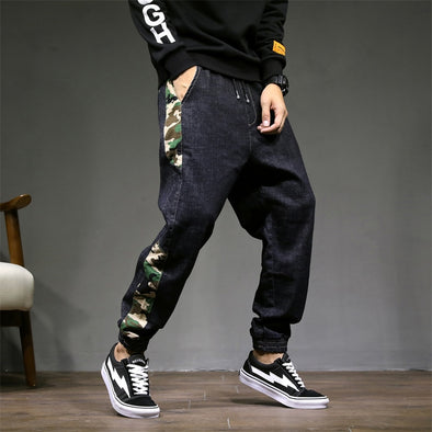 Slim Fit Tapered Camo Men's Joggers
