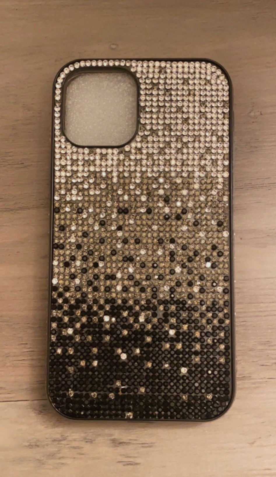 Falling Stars bling cellphone case - Black