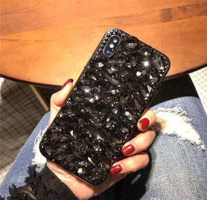 Rock Star Blackout cellphone case (Black)