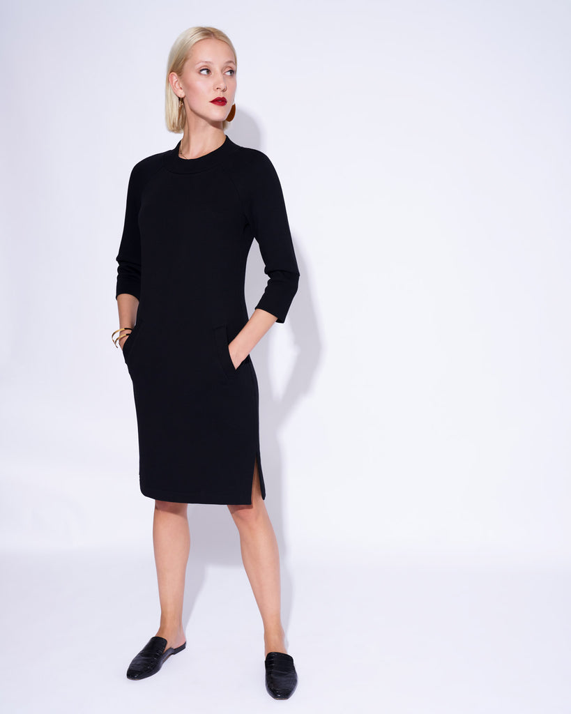 Dress AMALIA black-PATERMO