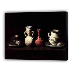 Still Life with Pots by Francisco de Zurbarán