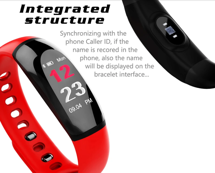 InteliBand™ Heart Rate Blood Pressure Monitor Smart Sports Wristband