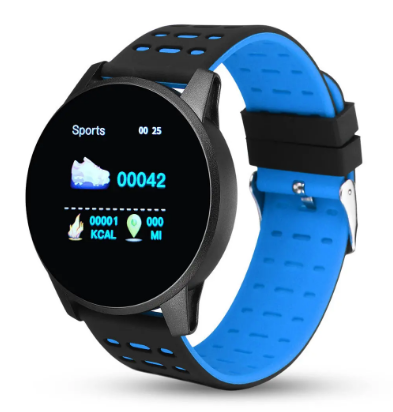 VitalSpecs™ Heart Rate, Blood Pressure Monitor Color View Smart Watch
