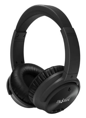 TechAudio™Active Noise Cancelling Bluetooth Headphone with HD Mic