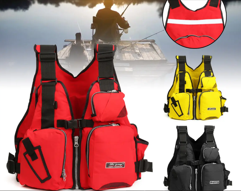 SportJoy™  Multifunctional Fishing Vest and Life Jacket