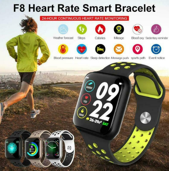 VitalSpecs™ Smart Watch Heart Rate Monitor Fitness Tracker