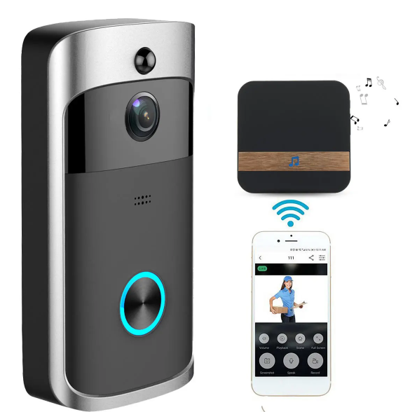 SecureElite™ Wireless WiFi Doorbell Security Camera