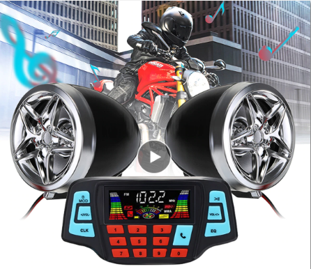 BikeBT™ Motorcycle Bluetooth Phone, FM Radio & MP3 Sound System