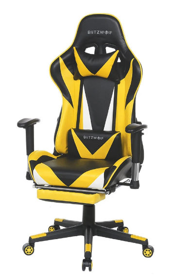 GameErgo™ Adjustable Reclining Ergonomic Design Home Office Gaming Chair