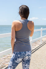 Load image into Gallery viewer, Racerback maternity singlet