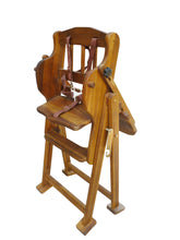 Load image into Gallery viewer, Wooden Adjustable / Hi-Lo Chair