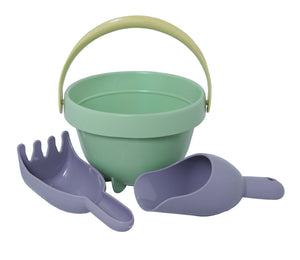 "Plasto ""I AM GREEN"" Baby bucket set"