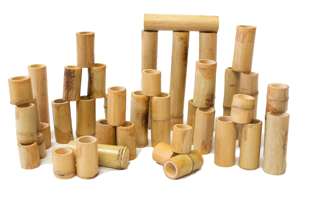 Bamboo Counting and Building Set 40PCE
