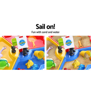 Sand & Water Table Beach Set Outdoor Table
