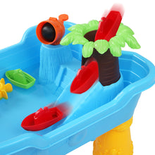 Load image into Gallery viewer, Sand & Water Table Set - 20 Piece Pirate - Blue