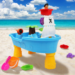 Sand & Water Table Set - 20 Piece Pirate - Blue
