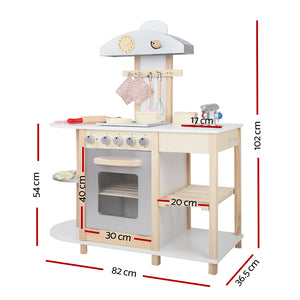 Keezi Kids Cooking Set - White
