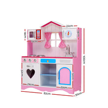 Load image into Gallery viewer, Keezi Kids Kitchen Set Pretend Play Food Sets Childrens Utensils Toys Pink