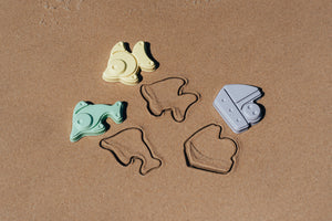 "Plasto ""I AM GREEN"" Sand Moulds, 6 pieces"