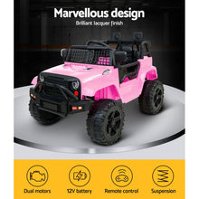 Load image into Gallery viewer, Kids Ride On Car Jeep with Remote Control - Pink