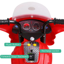 Load image into Gallery viewer, Kids Ride On Motorbike Motorcycle Red