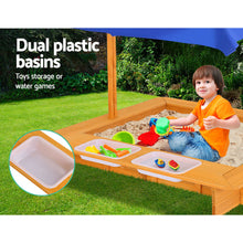 Load image into Gallery viewer, Keezi Outdoor Canopy Sand Pit