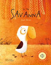 Load image into Gallery viewer, Sassi Books - Sound Book - Into the Savannah