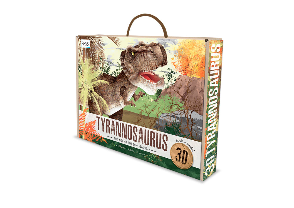 Sassi 3D Assemble and Book - The Age Of The Dinosaurs - Tyrannosaurus