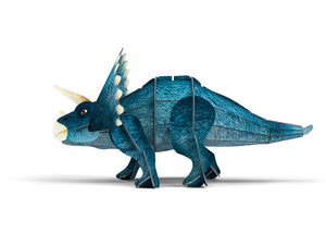 Sassi 3D Assemble and Book - The Age Of The Dinosaurs - Triceratops