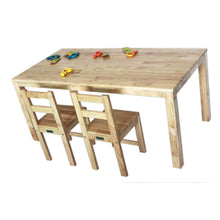 Load image into Gallery viewer, Rubberwood Rectangle Table 120