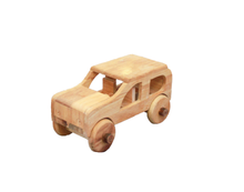 Load image into Gallery viewer, Natural Wooden Car