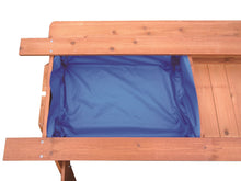 Load image into Gallery viewer, Sand & Water Wooden Picnic Table