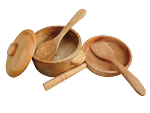 Mahogany Pan & Pot Set