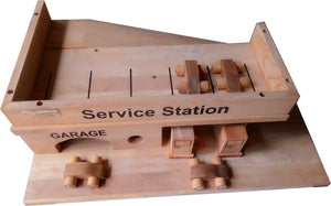 Solid Wooden Service Station