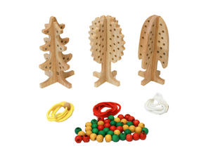 Solid Lacing Tree set of 3
